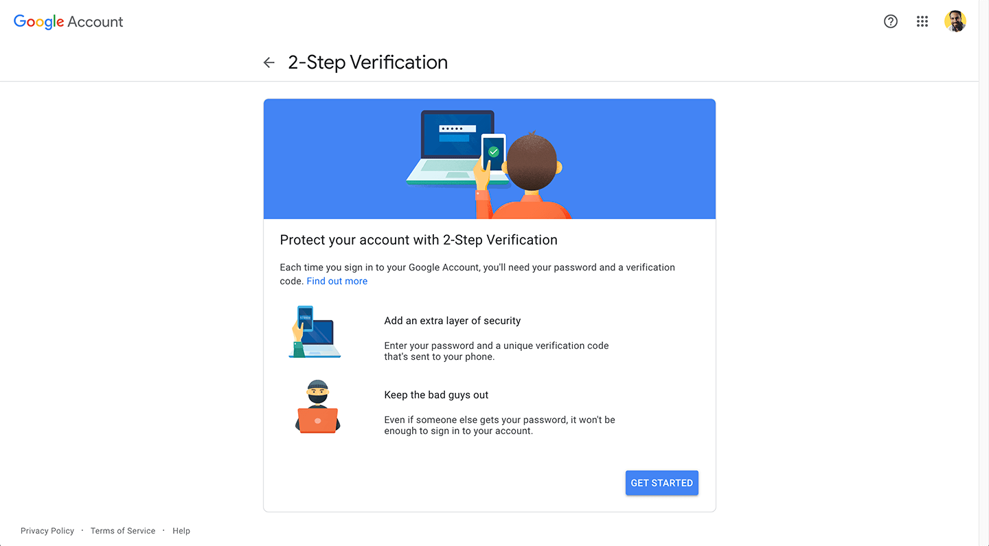 Gmail security