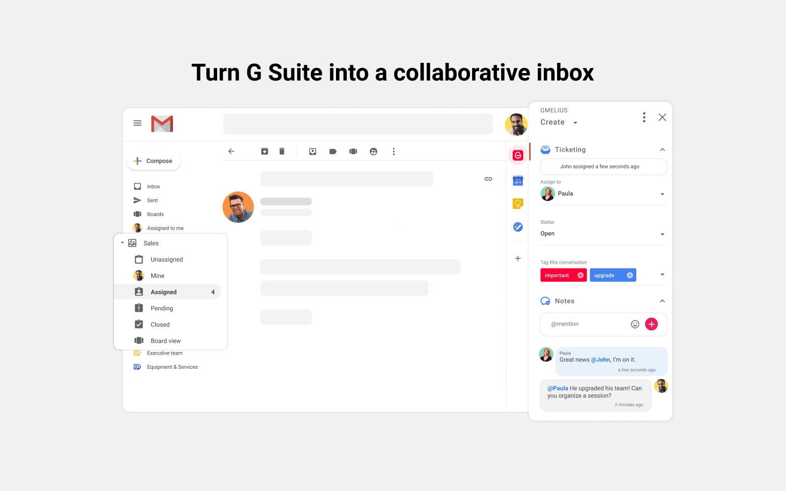 G Suite collaborative inbox