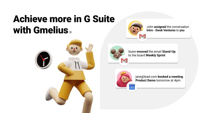Gmelius G Suite integration