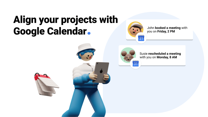 Sync Google Calendar with Gmelius