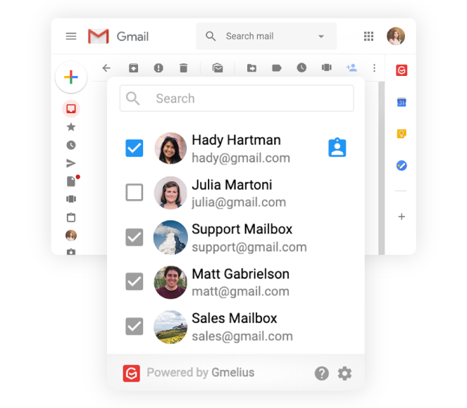 Team collaboration tools: Gmelius makes it easy to set up a shared inbox within Gmail