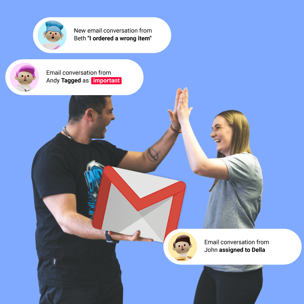 How to Manage Customers from Gmail? [support@]