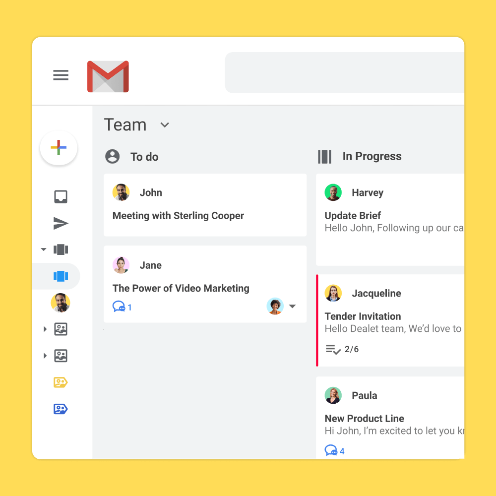 New: Gmail Kanban Boards
