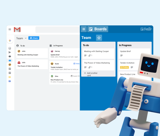 Introducing our 2-way Gmail to Trello integration