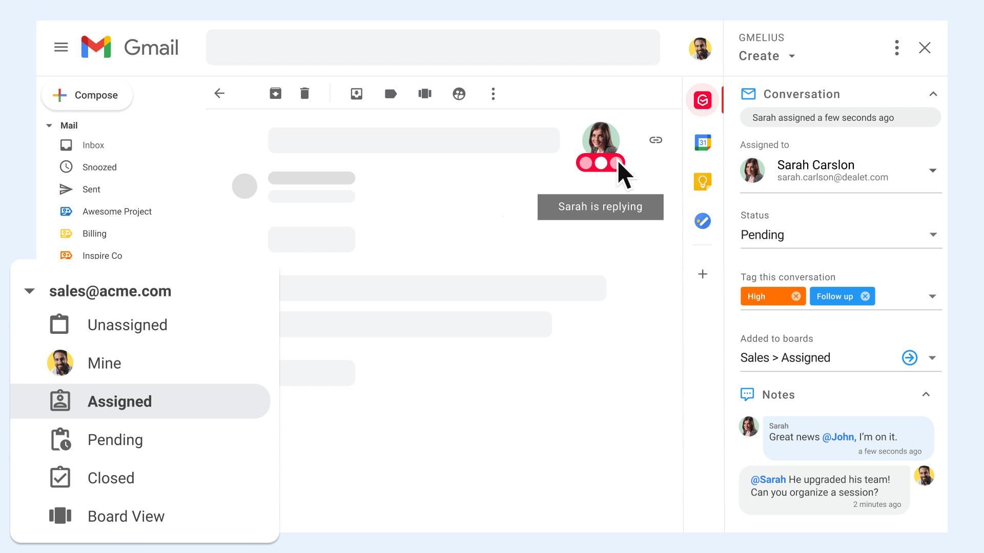 Shared Inbox Collision
