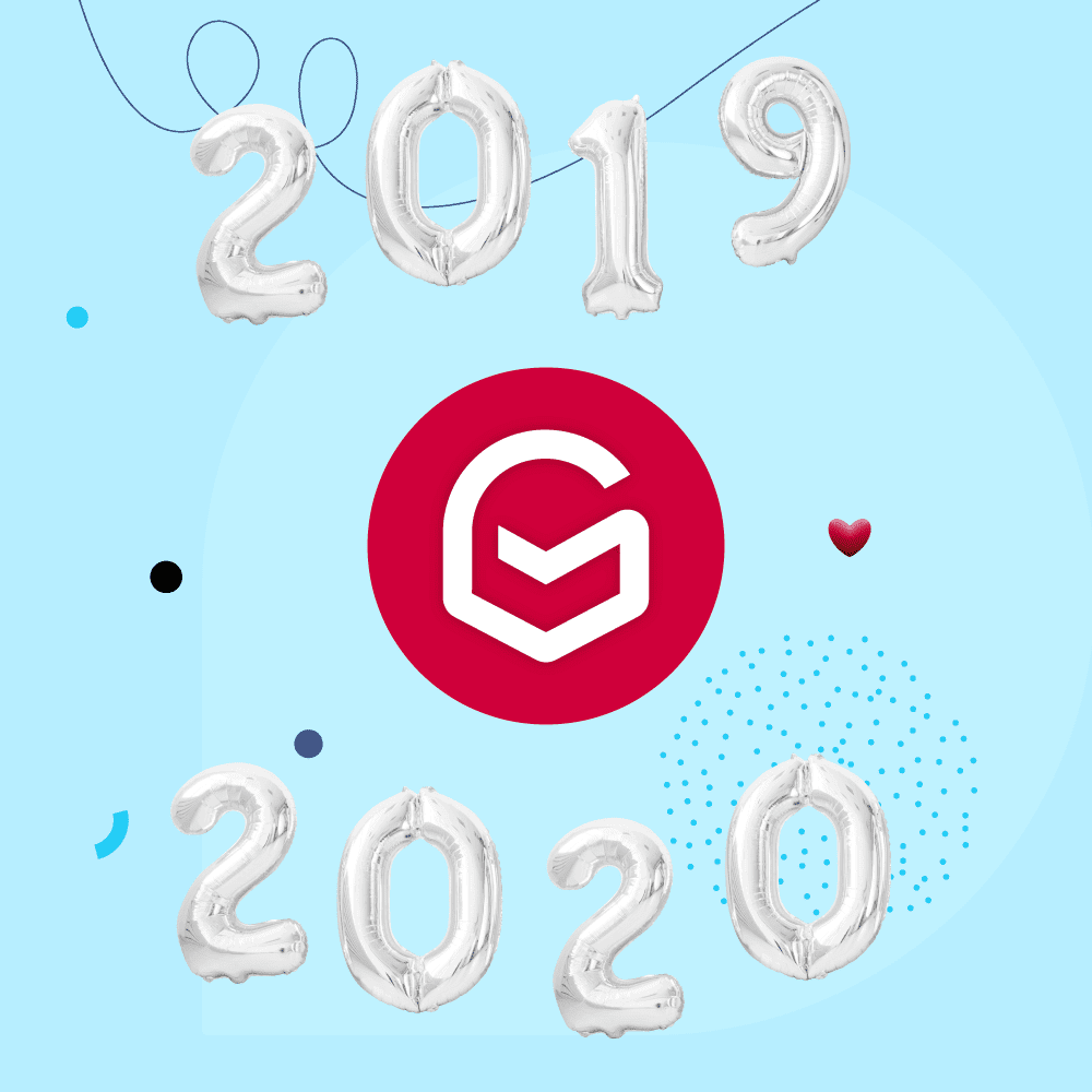 Gmelius' 2019 Year in Review & Vision for 2020