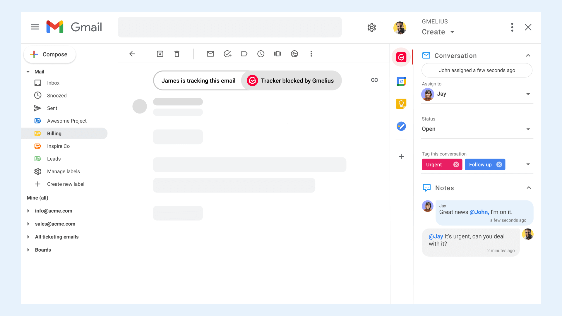 Block Email Tracker