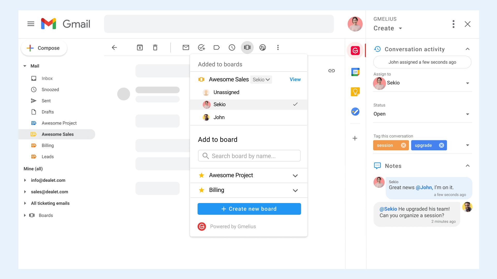 distribution team workflow automation