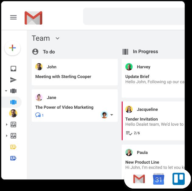 Kanban Boards Gmail