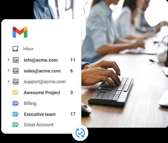 Synchronisez vos données email avec votre base de données locale