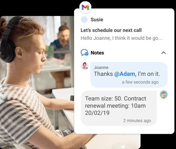 Ajoutez des informations utiles à propos de vos clients dans Gmail