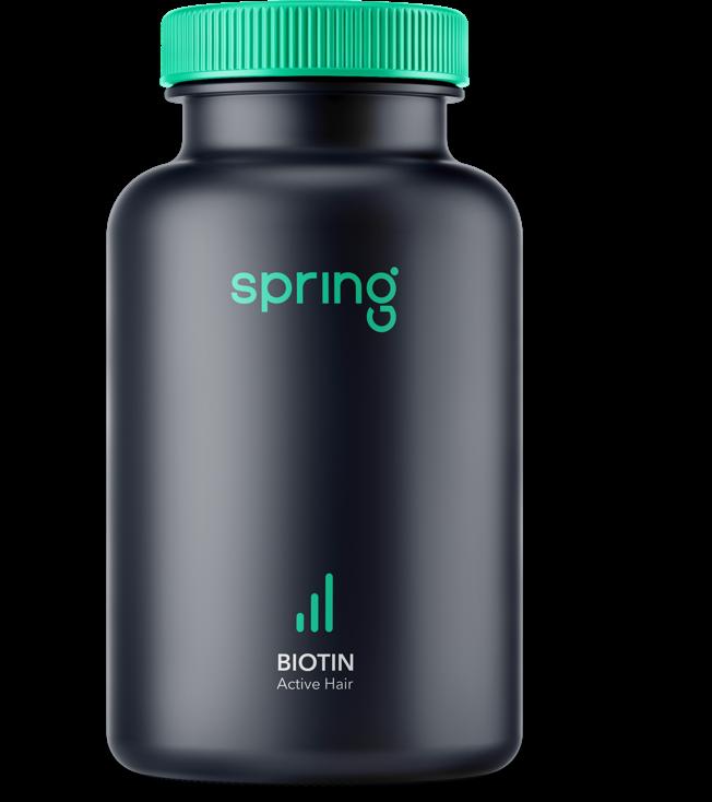 Spring Biotin Kapseln (60 Stück)