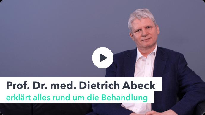 Video: Prof. Dr. med. Dietrich Abeck erklärt alles rund um die Haarbehandlung