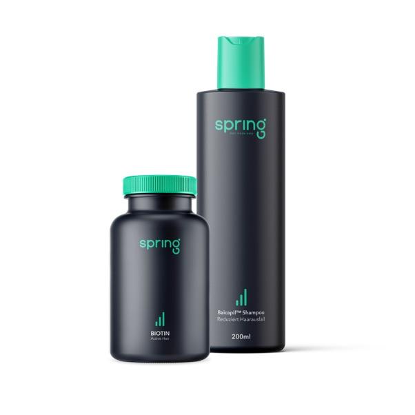 Spring Paketset - Haarausfall vorbeugen