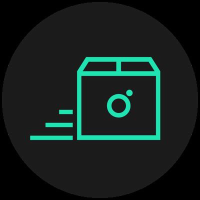 Spring Icon für den Versand durch die Apotheke