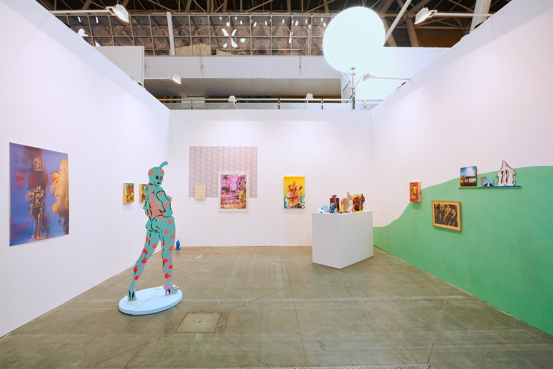 Edwin Burdis, Artissima solo presentation, 2017. Installation view. Artissima, Turn, IT.