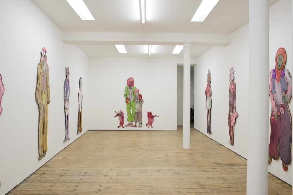 Edwin Burdis, The Plumbers (Hygienic Gaze), 2014. Installation view. VITRINE, Bermondsey Street.