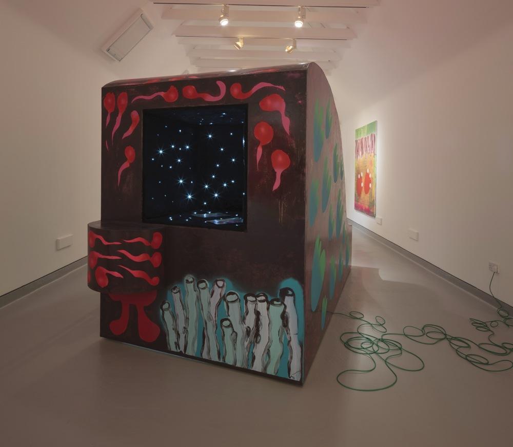Edwin Burdis, The Thickening, 2015. Installation view. Photographer: Ruth Clark. Courtesy of Jupiter Artland, Edinburgh, UK.