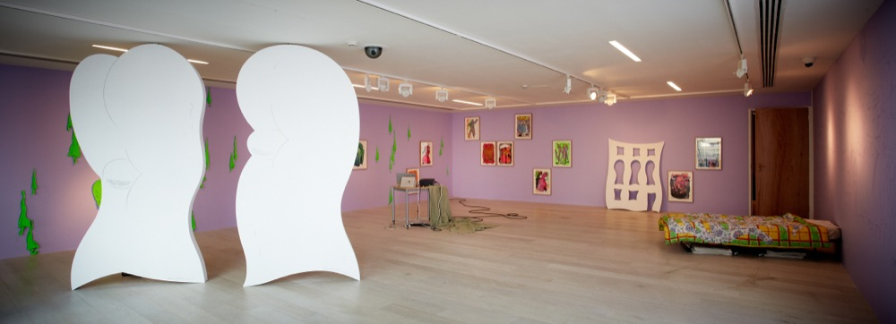 Edwin Burdis, Home Service, 2011. Installation view. Courtesy of Hayward Gallery, London, UK.