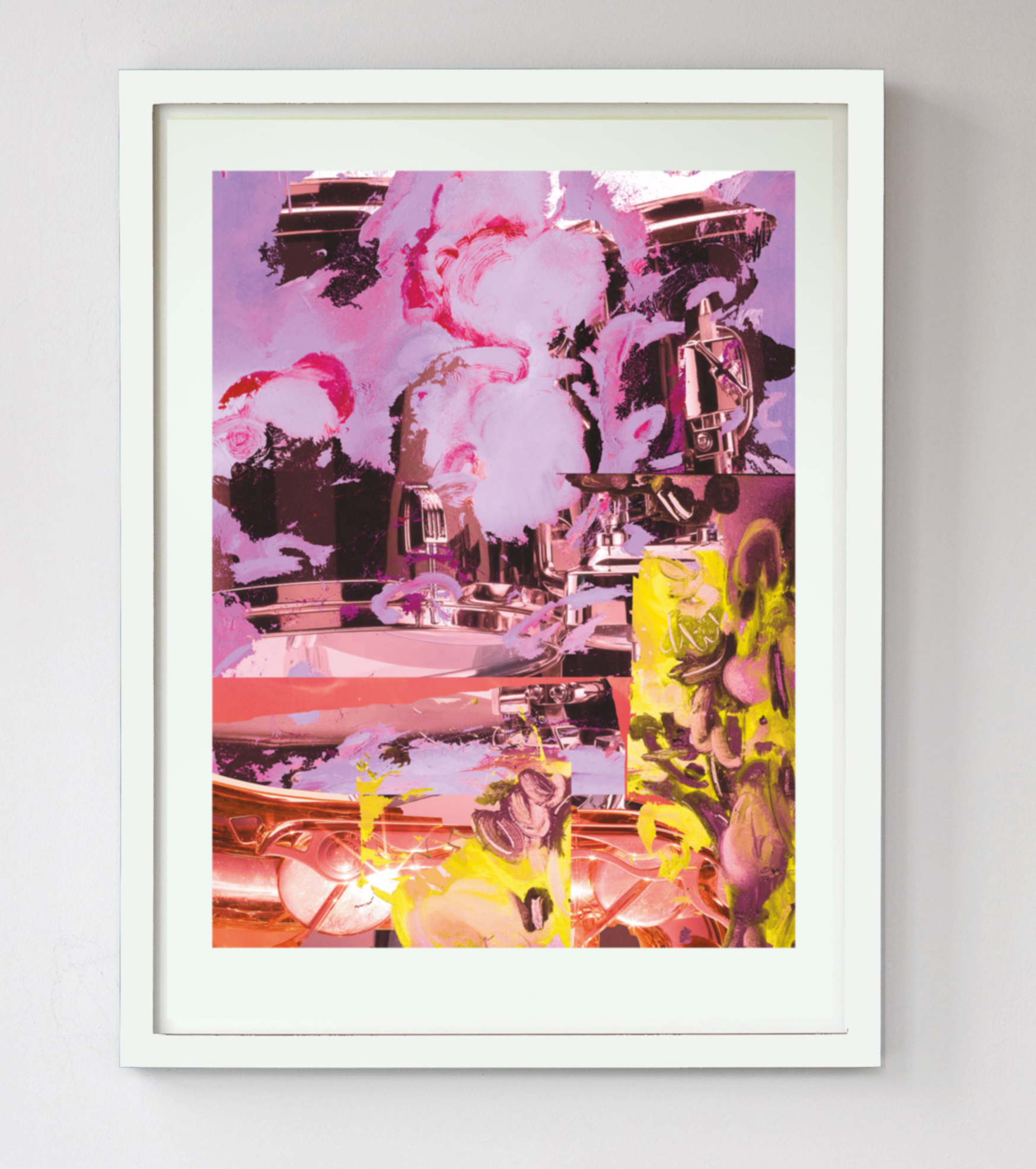 Edwin Burdis, How pink is my valley, 2017. Inkjet print on heavyweight paper. Framed. 90 x 114 cm.