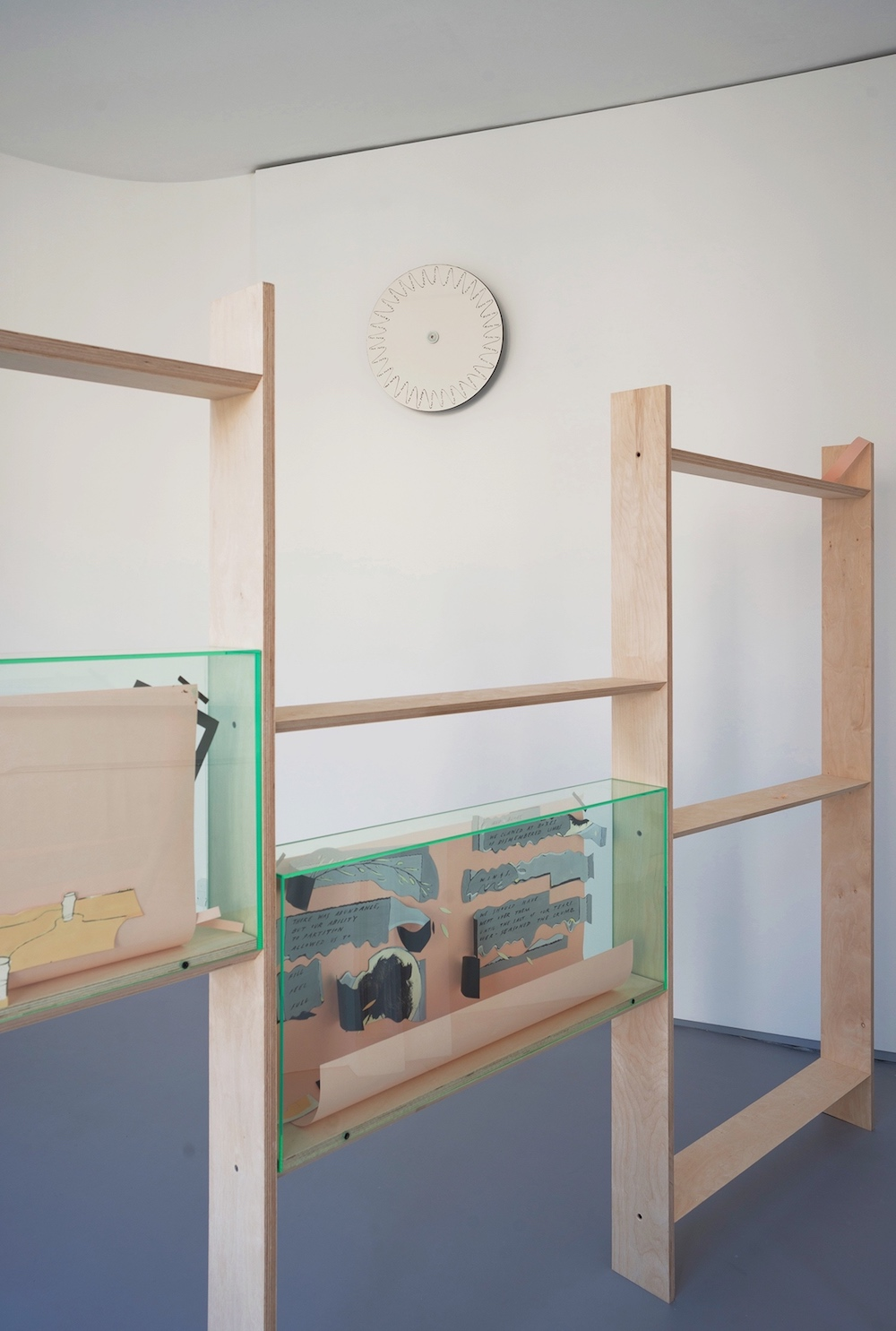 Charlie Godet Thomas, WHAT IS IT, THIS TIME?, 2018. Installation view. Lily Brooke, London, UK.