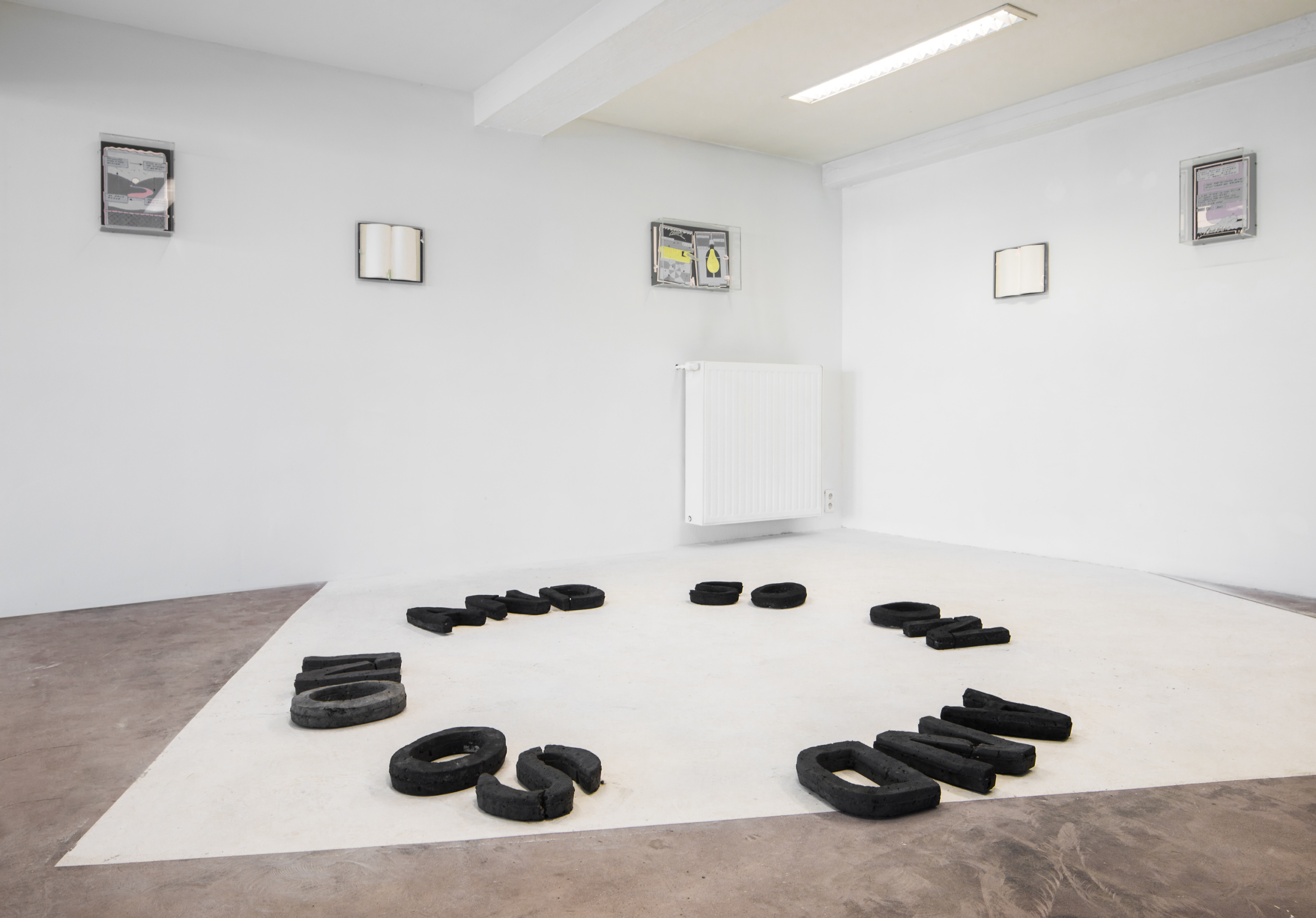 Charlie Godet Thomas, And So On And So On, 2018. Installation view. POPPOSITIONS 2018. Photographer: Jeroen Verrecht.