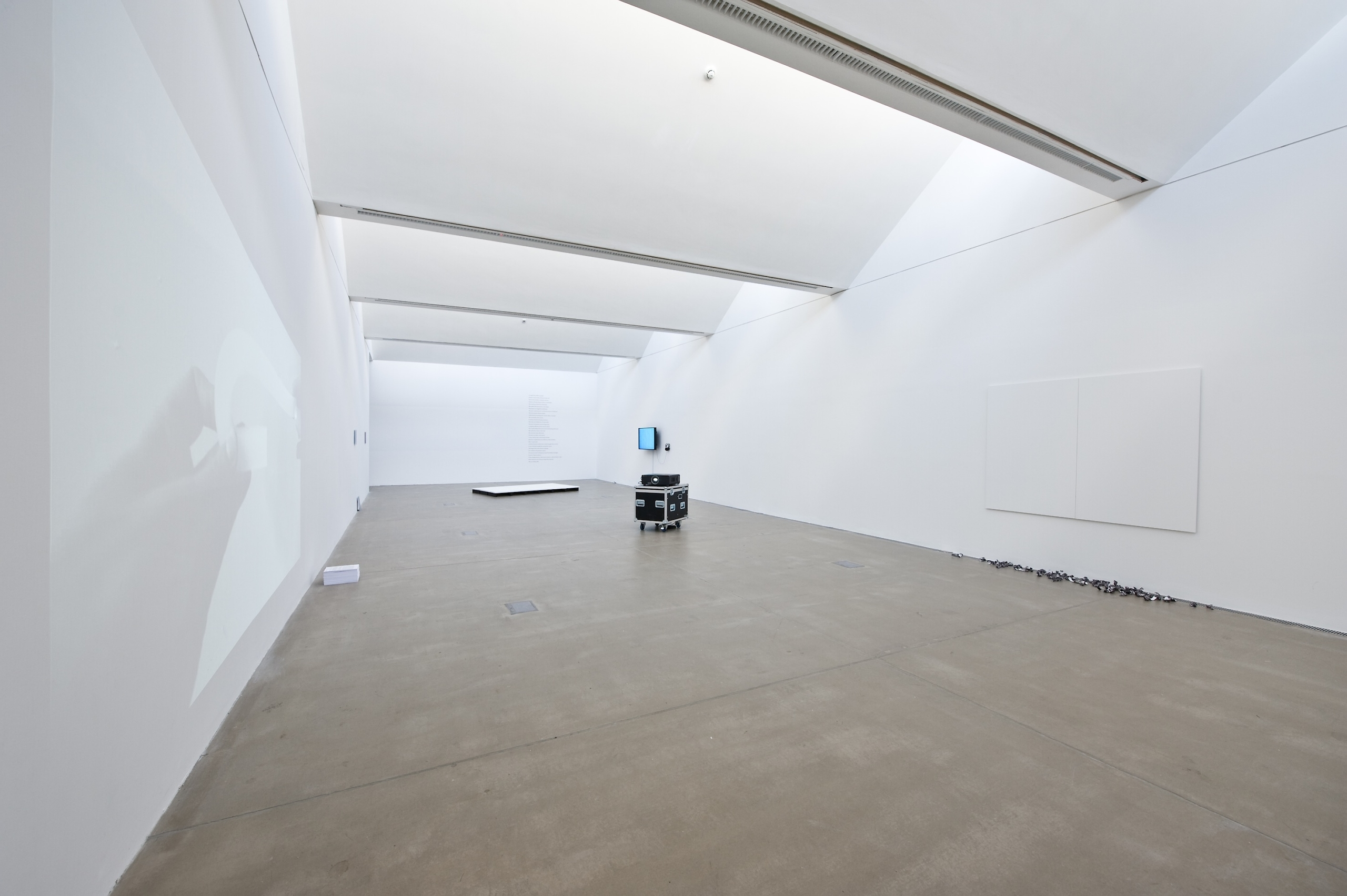 Charlie Godet Thomas, A Method for Writing / A Method for Making, 2014. Installation view. BALTIC Center for Contemporary Art, Newcastle, UK.