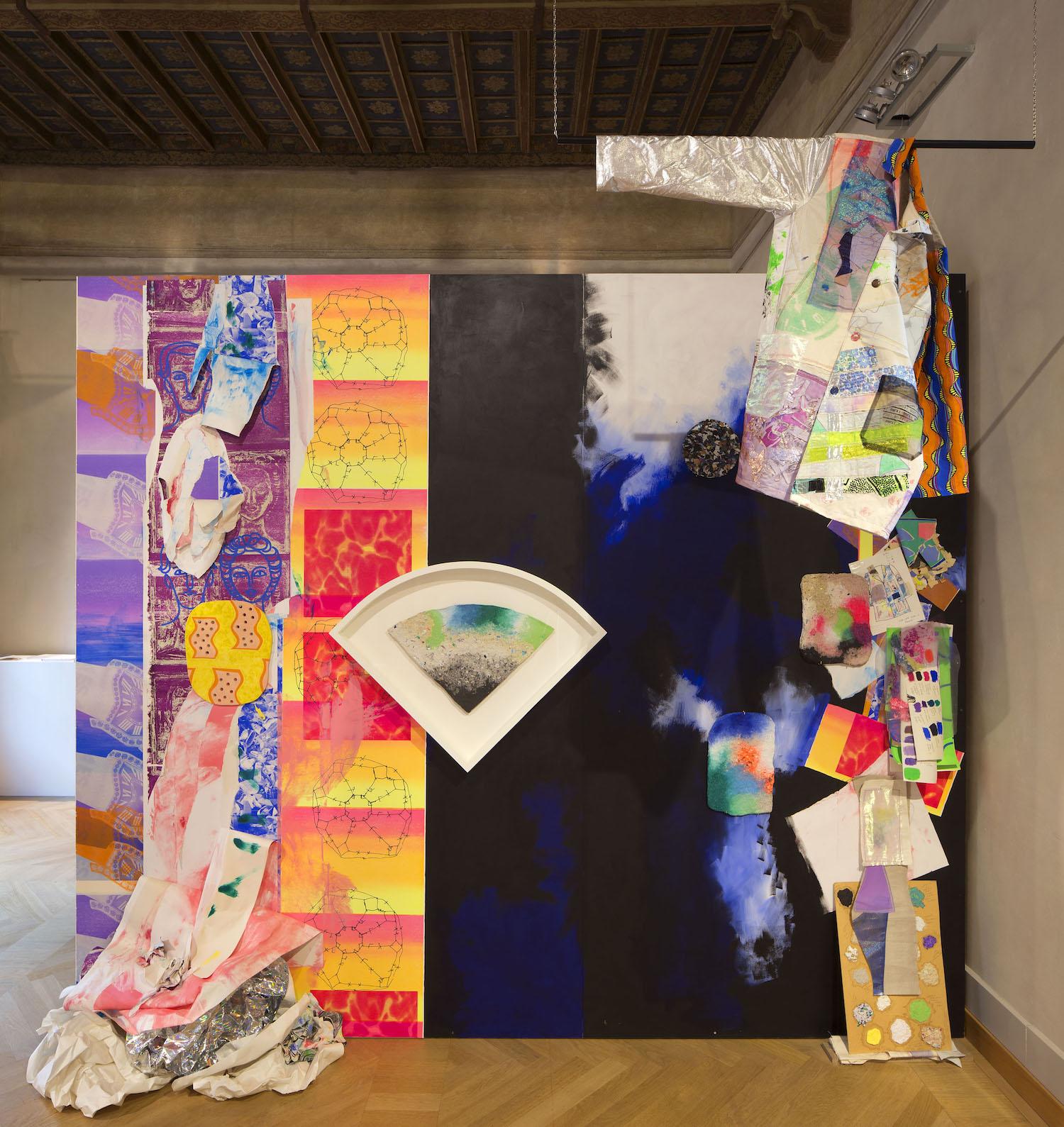 Ludovica Gioscia, La Vita Materiale, 2018. Installation view. Palazzo da Mosto, Fondazione Palazzo Magnani, Reggio Emilia, IT. Photographer: Michele Panzeri.