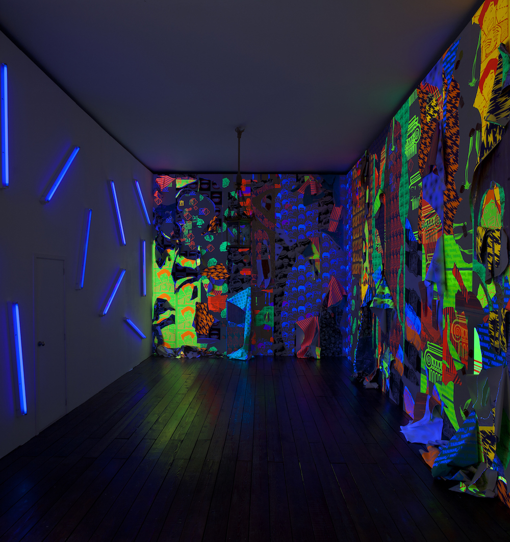 Ludovica Gioscia, House Of Peroni, 2013. Installation view. House Of Peroni, London, UK. Photographer: Michele Panzeri.