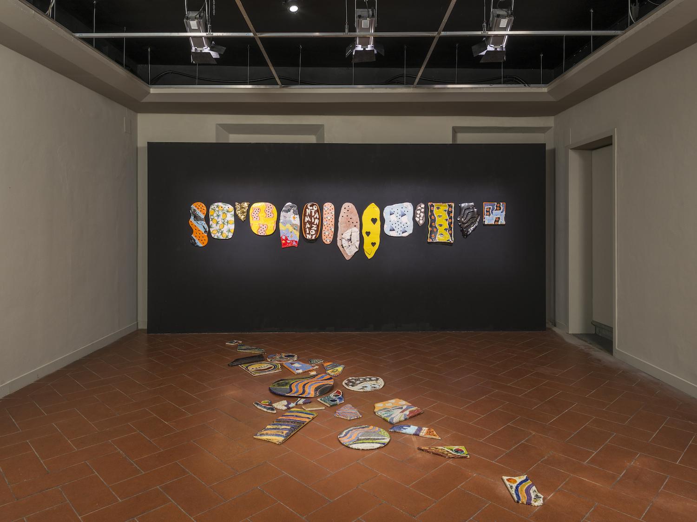 Ludovica Gioscia, Materia Montelupo: Cantieri contemporanei in ceramica, 2017. Installation view. Palazzo Podestarile, Montelupo Fiorentino, IT. Photographer: Cosimo Filippini.