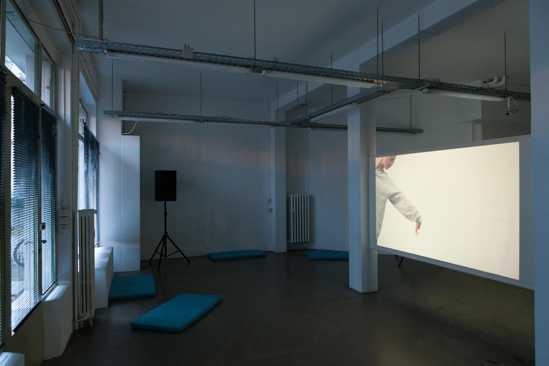 Nicole Bachmann, I Say, 2017. Installation view. Corner College, Zurich, CH.