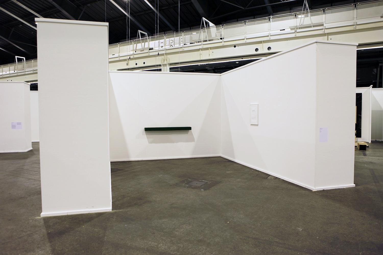 Sam Porritt, Trophy, 2017.  Installation view. Swiss Art Awards 2017.