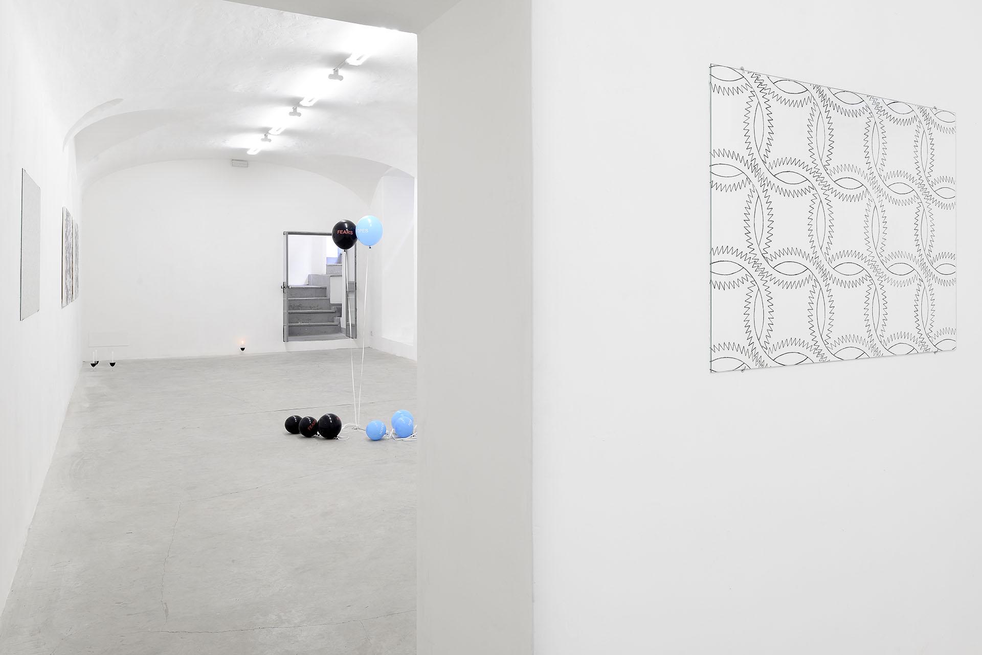 Sam Porritt, Hidden In Plain Sight, 2016. Installation View. Courtesy of Frutta, Rome, IT.