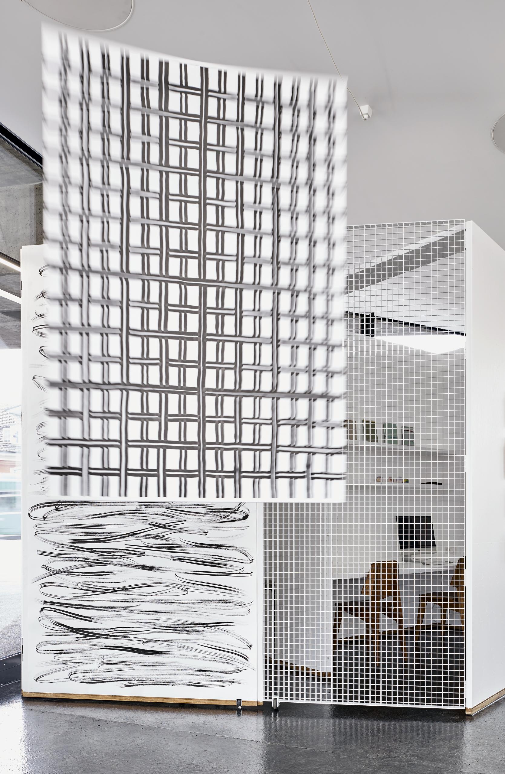 Sam Porritt, Both Vice and Versa, 2016. Installation view. VITRINE, Basel. Photographer: Mark Niedermann.