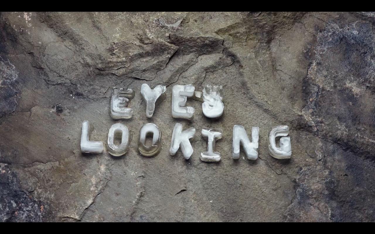 Tim Etchells, Eyes Looking (Loop) (screenshot), 2016. Single channel video looped, 16:9. 00:02:49. Edition of 5 (+2 AP).