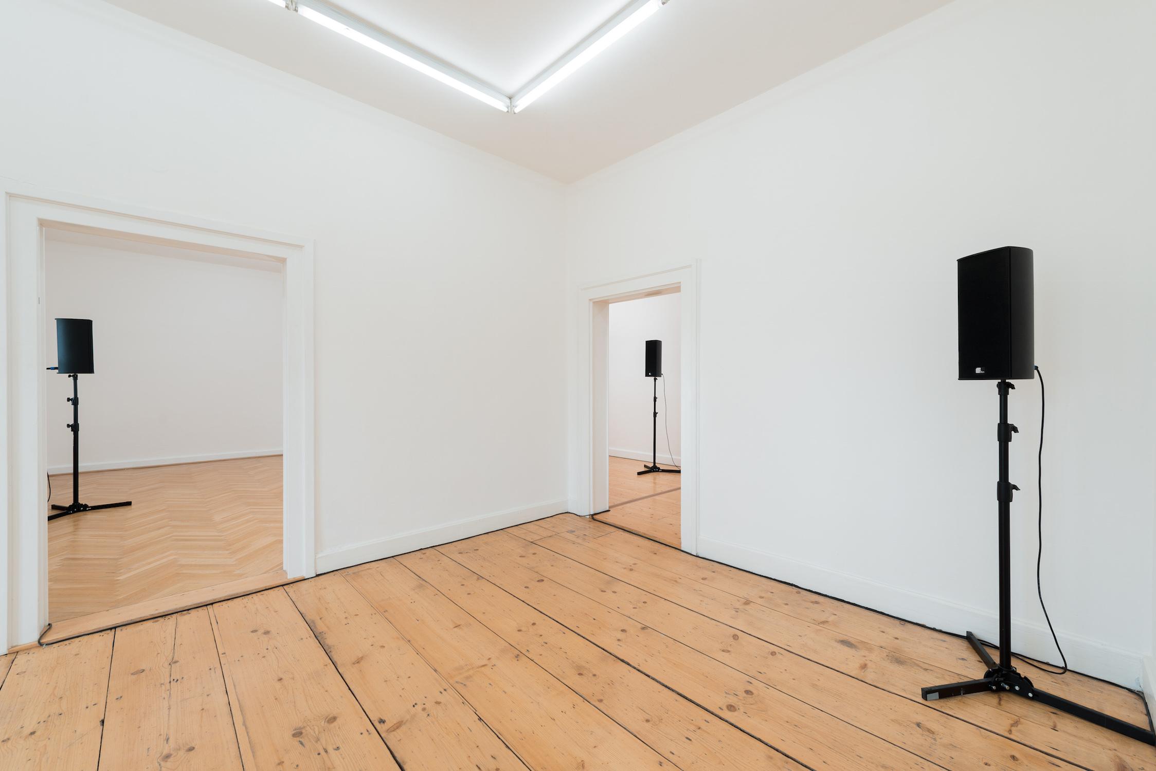 Tim Etchells, Together Apart, 2017. Installation view. Kunstverein Braunschweig, DE. Photographer: Stefan Stark.
