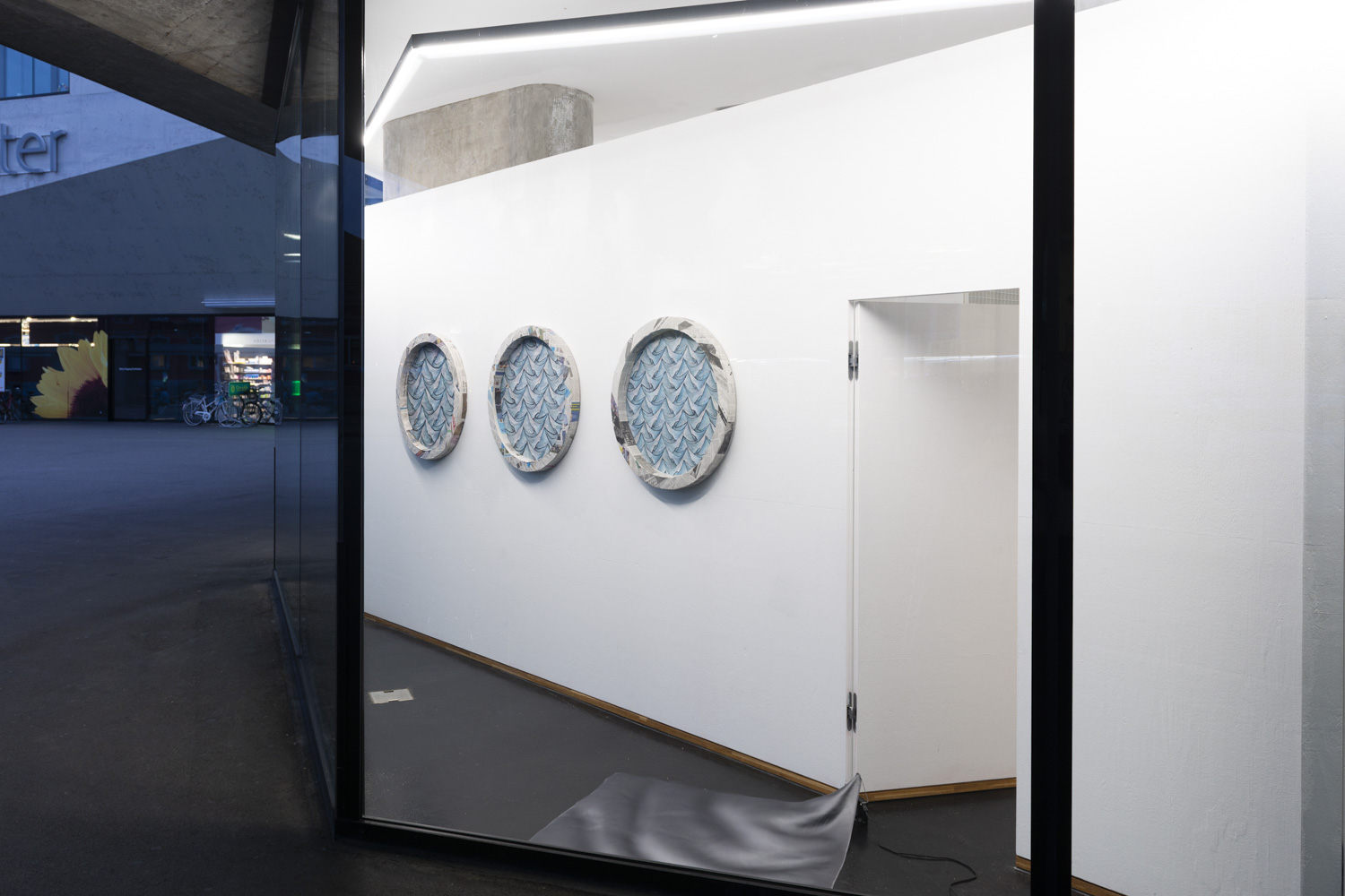 Sam Porritt, A Certain Change, Installation View. 2018. VITRINE, Basel. Photographer: Nici Jost.