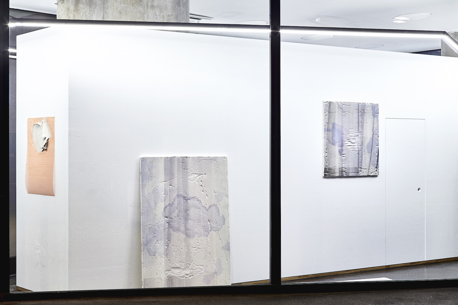 A Journey from a sweeping gesture to a lasting effect, Installation view, 2016. VITRINE, Basel. Photographer Mark Niedermann.