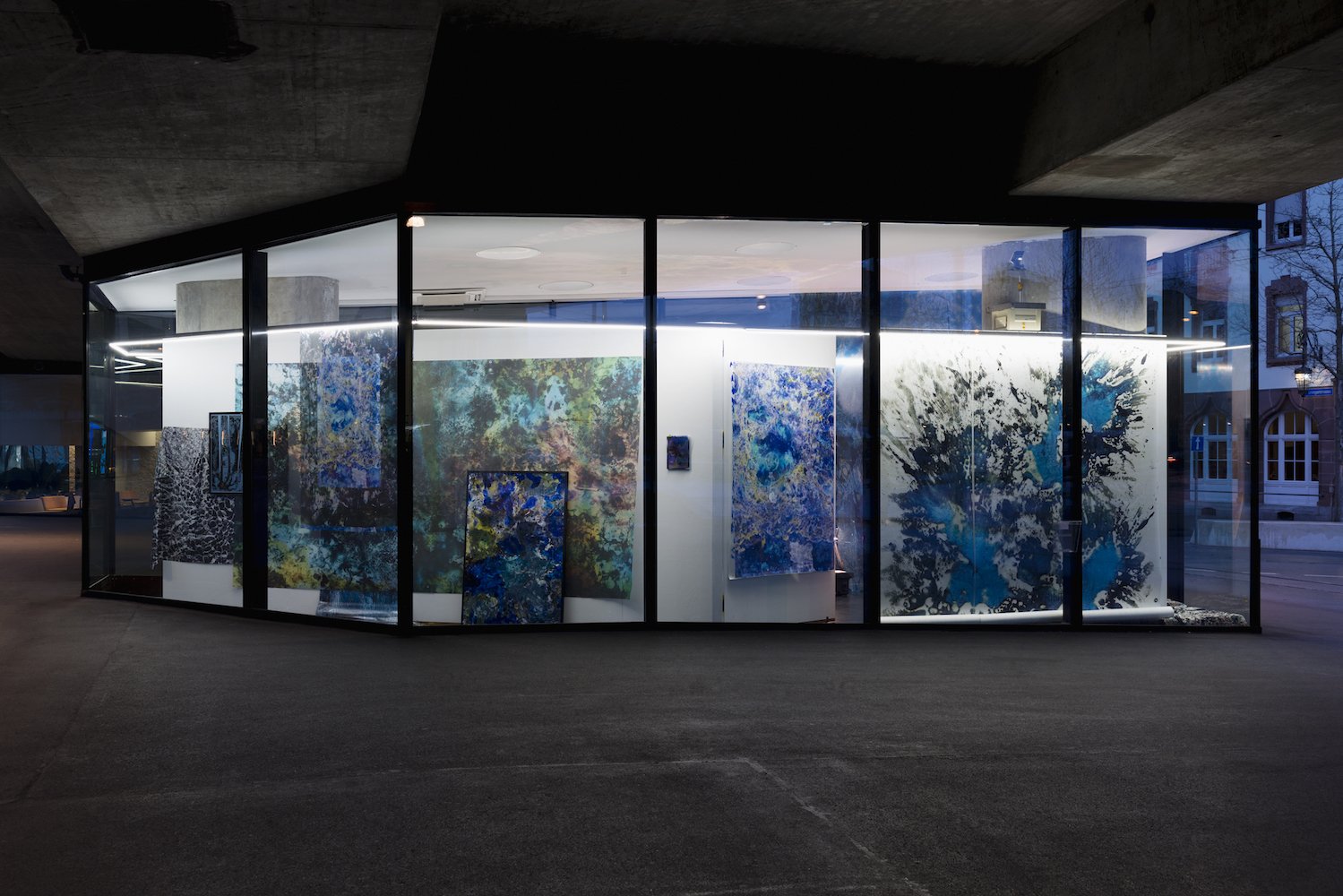 Maya Rochat, A River is a Rock, 2017. Installation View. VITRINE, Basel. Photographer: Nici Jost.