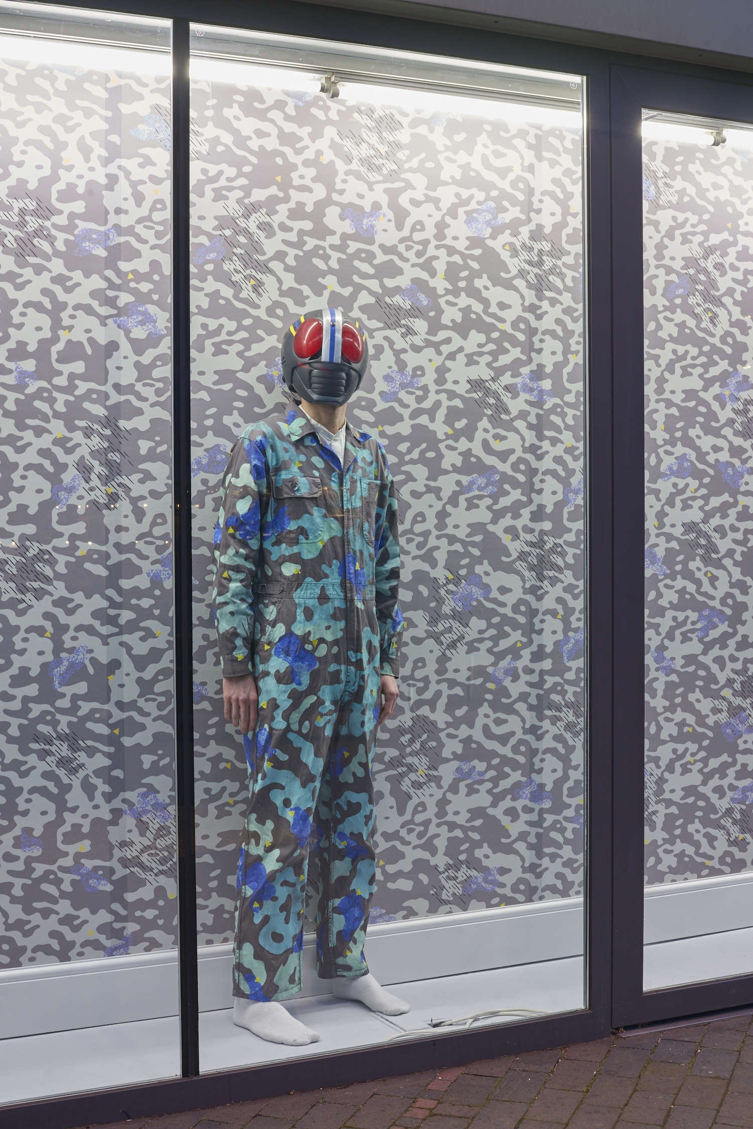 Nadim Abbas, Camoufleur, 2017, Installation view. VITRINE, London. Photographer: Jonathan Bassett.