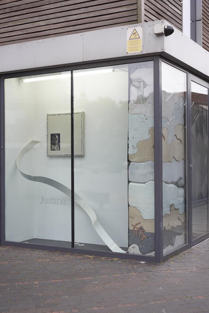 Identify your limitations, acknowledge the periphery, 2016. Installation view. VITRINE, London. Photographer: Jonathan Bassett.