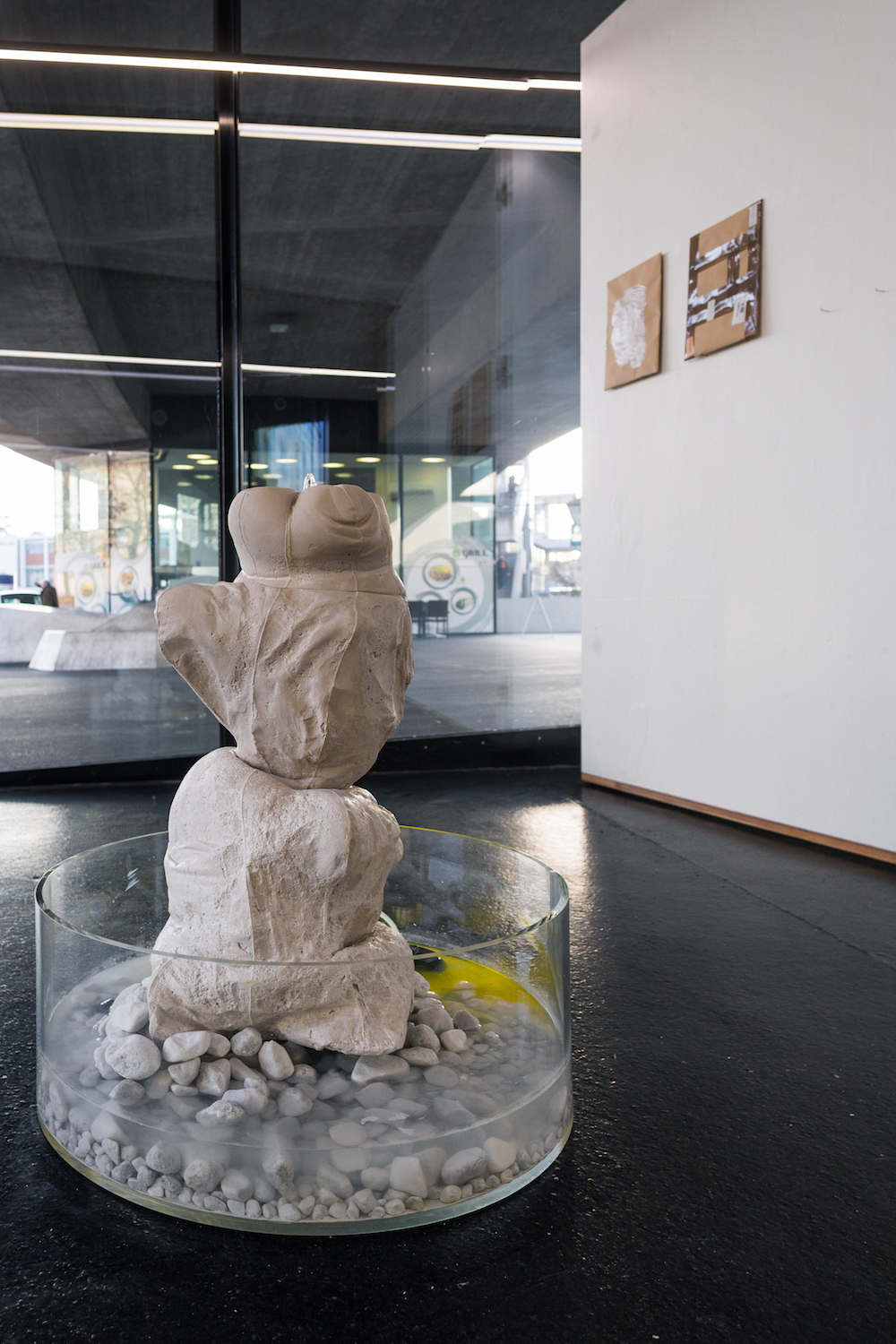 If it's not meant to last, this it's Performance, 2019. Installation view, DAY ONE. VITRINE, Basel. Photographer: Nicolas Gysin.