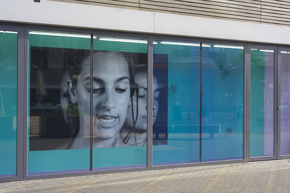 Ilona Sagar, Mute Rehearsal, 2015. Installation view. VITRINE, London. Photographer: Jonathan Bassett.