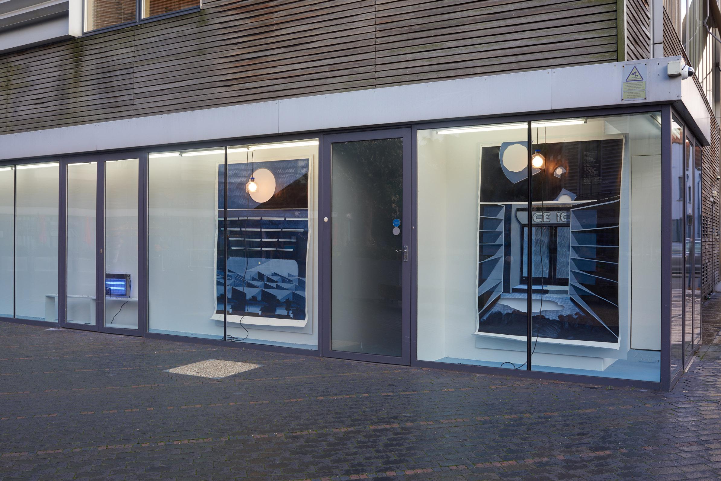 Charlie Godet Thomas, NON-STOP-SUPER-DE-LUX, 2019. Installation view. VITRINE, London. Photographer Jonathon Bassett.