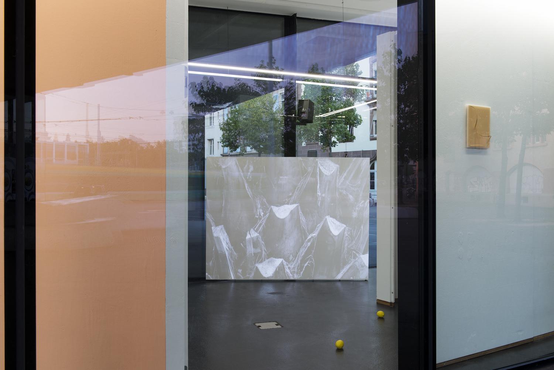 Charlie Godet Thomas, Roman-fleuve, 2017. Installation view. VITRINE, Basel. Photographer: Nici Jost.