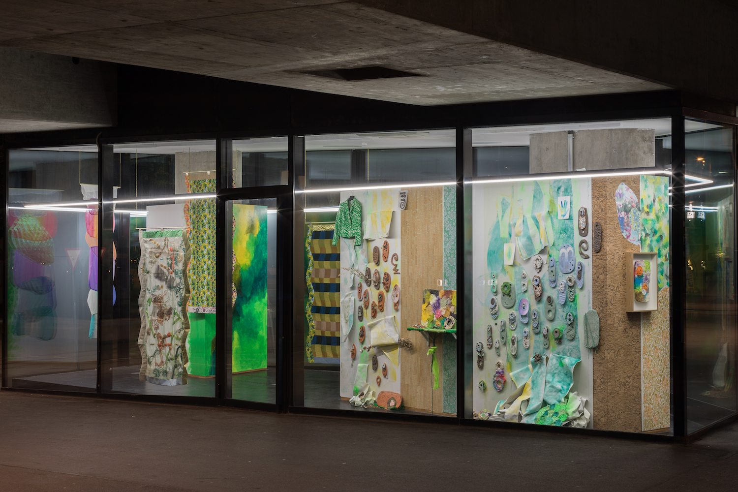 Ludovica Gioscia, The Tenderness of Insects, 2019. Installation view. VITRINE, Basel. Photographer Nicolas Gysin.