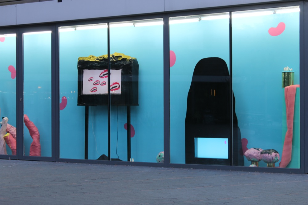 Rebecca Molloy, Till Death do us Party, 2015. Installation view. VITRINE, London.