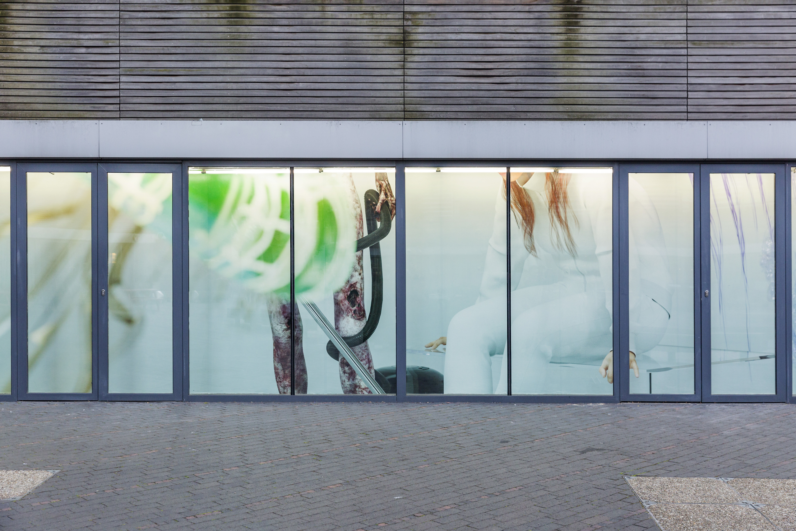 Kate Cooper, Ways to Scale, 2017. Installation View. VITRINE, London.