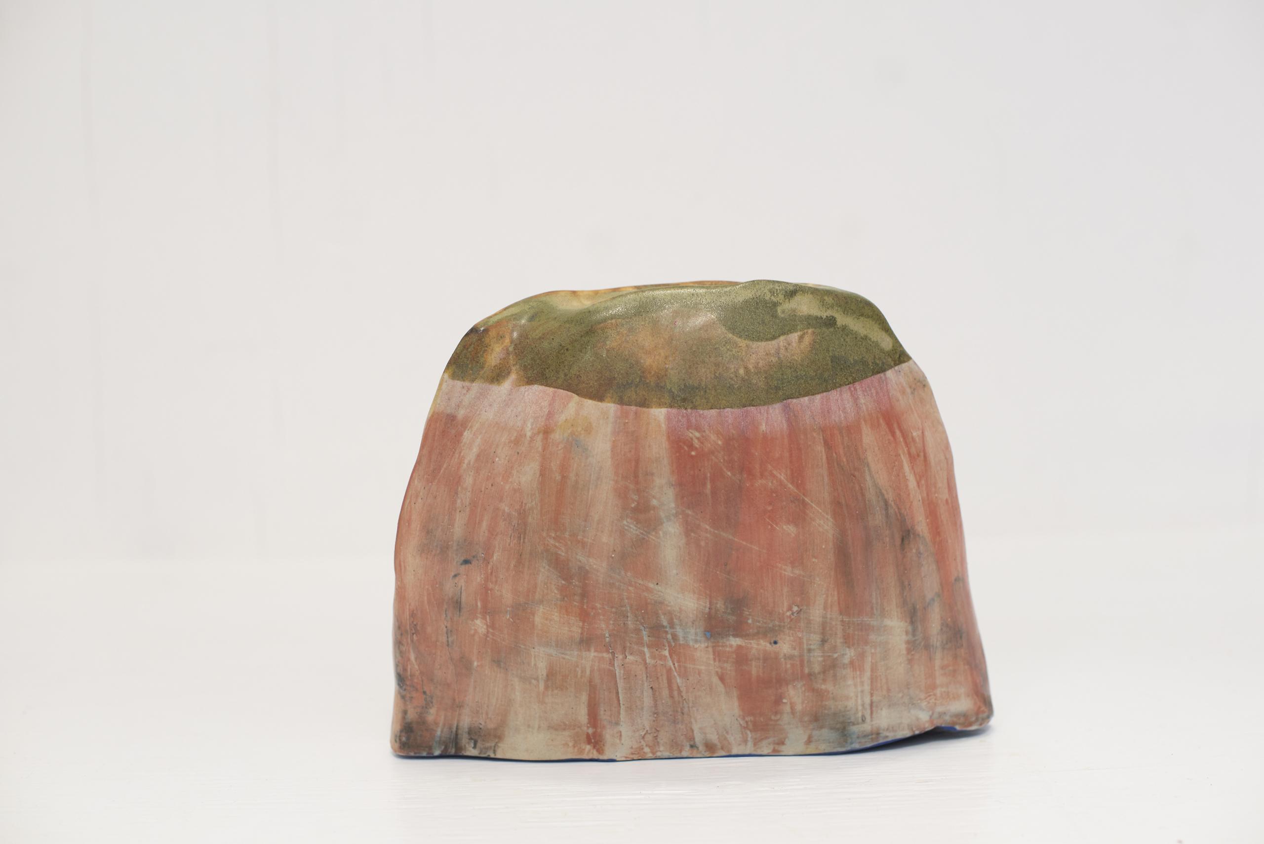 Sara Gassmann, EISHEILIGE I-V, 2016. Glazed ceramic.