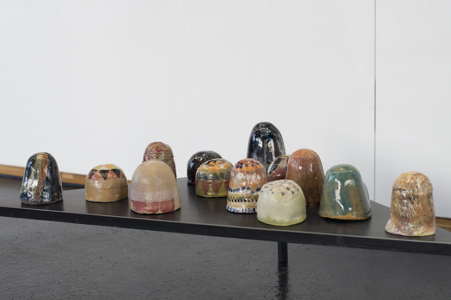 Sara Gassmann, WÜNSCHELRUTEN (small), 2016. Glazed ceramic. Edition of 54.